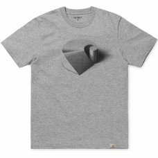 S/S C Ramp T-Shirt CINZENTO