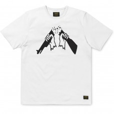 S/S No Guns T-Shirt BRANCO