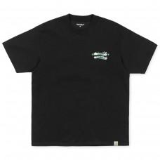 S/S Foam C T-Shirt PRETO