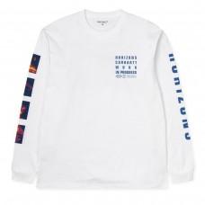 L/S Horizon T-Shirt BRANCO