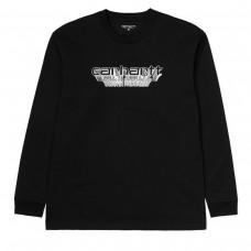 L/S Framework T-Shirt PRETO