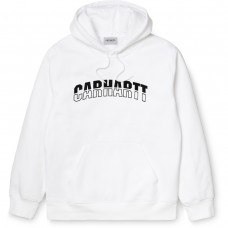 Hooded District Sweat BRANCO