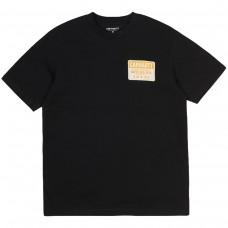 S/S Rattlesnakes T-Shirt PRETO
