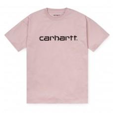 W´ S/S Script T-Shirt ROSA