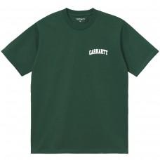 S/S University Script T-Shirt VERDE