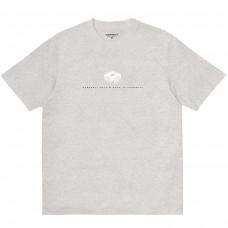 S/S WIP Data T-Shirt CINZENTO