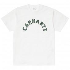 S/S Plant Script T-Shirt BRANCO