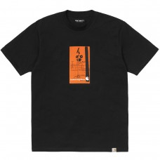 S/S Interception T-Shirt PRETO