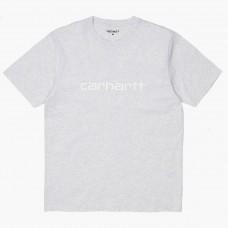 S/S Script T-Shirt CINZENTO