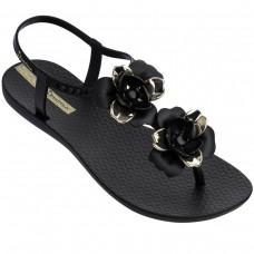 Floral Sandal PRETO