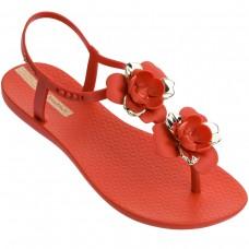 Floral Sandal VERMELHO