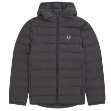 Insulated Hooded Jacket PRETO