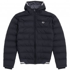 Hooded Insulated Jacket PRETO