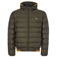 Hooded Insulated Jacket VERDE