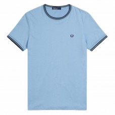 T-Shirt Fred Perry Twin Tipped AZUL