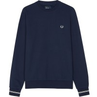 Fred Perry Crew Neck Sweatshirt  - carbon blue AZUL
