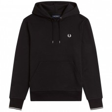 Tipped Hooded Preto