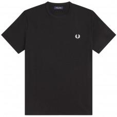 RingerT-Shirt PRETO