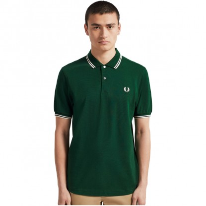 Twin Tipped Polo Shirt VERDE