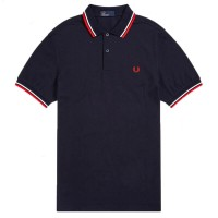 Twin Tipped Polo Shirt AZUL