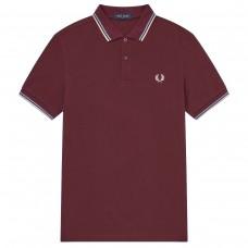 Twin Tipped Polo Shirt VERMELHO