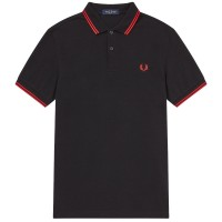 Twin Tipped Polo Shirt PRETO