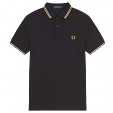 Twin Tipped Polo Shirt PRETO