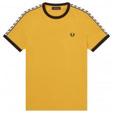 Taped RingerT-Shirt AMARELO