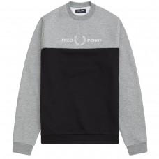 Block Graphic Sweatshirt PRETO