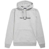 Graphic Hooded Sweatshirt CINZENTO