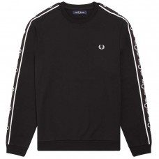 Taped Shoulder Sweatshirt PRETO