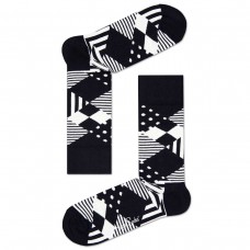 Multi Arglye Sock PRETO