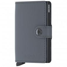 Miniwallet Matte Grey-Black CINZENTO