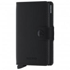 Miniwallet Soft Touch Black PRETO
