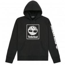 SLS Seasonal Logo hoodie Black PRETO