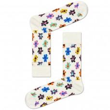 Teddybear Sock BRANCO