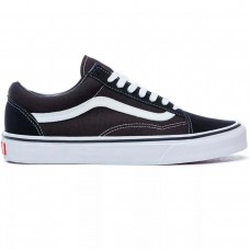 UA Old Skool Black/White PRETO