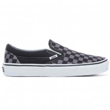 UA Classic Slip-On Black/Pewter CHECKERBOARD PRETO