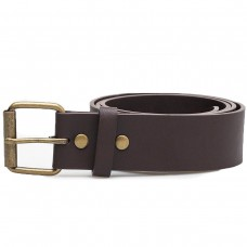 MN HUNTER II PU BELT Dark Brown, CASTANHO