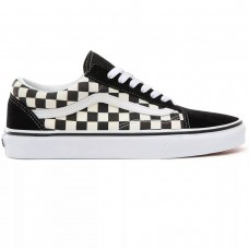 UA Old Skool (PRIMARY CHECK) BLK/WHITE PRETO