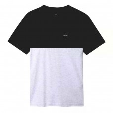 MN COLORBLOCK TEE ASH HEATHER/BLACK CINZENTO