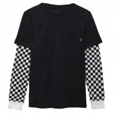 BY CHECKER SLEEVE TW Black/Checke PRETO