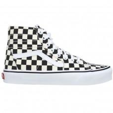 SK8-Hi Tapered Checkerboard PRETO