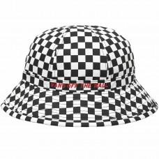 Offsides Bucket Hat Checkerboard Preto