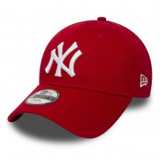 KIDS NEW YORK YANKEES SCARLET/OPTIC WHITE VERMELHO